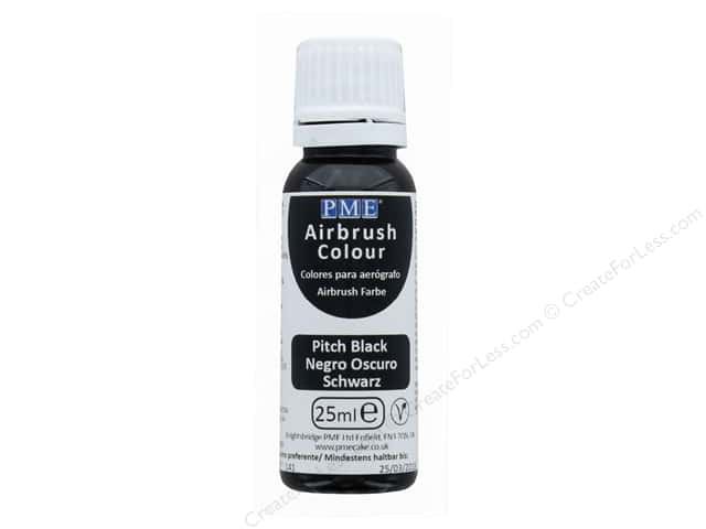 PME Airbrush Color 25 ml Pitch Black