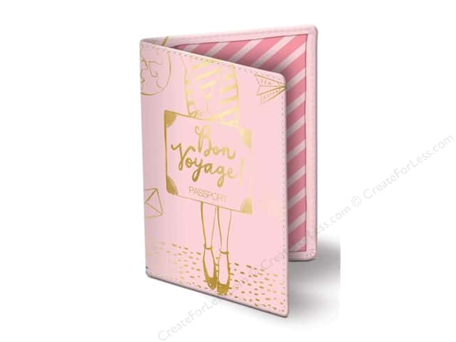 Lady Jayne Passport Cover Bon Voyage Girl