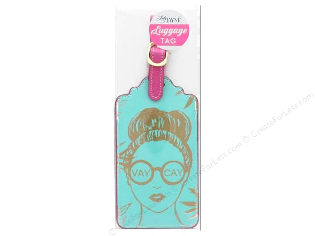 Lady Jayne Luggage Tag Vaycay Girl