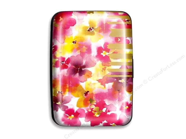 Lady Jayne Case Credit Card Floral Pink/Yellow