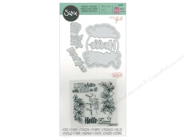 Sizzix Die & Stamp Katelyn Lizardi Framelits Just For You