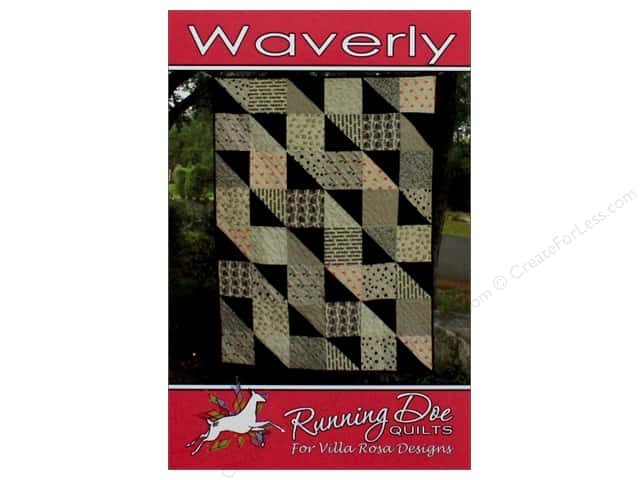 Villa Rosa Designs Running Doe Waverly Pattern Card