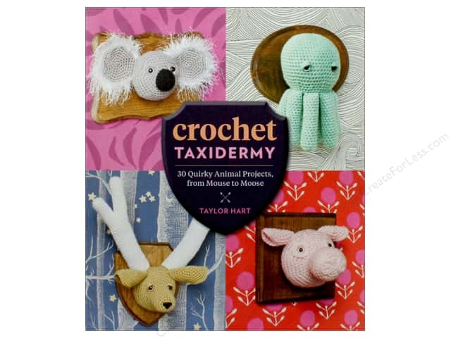 Crochet Taxidermy Book