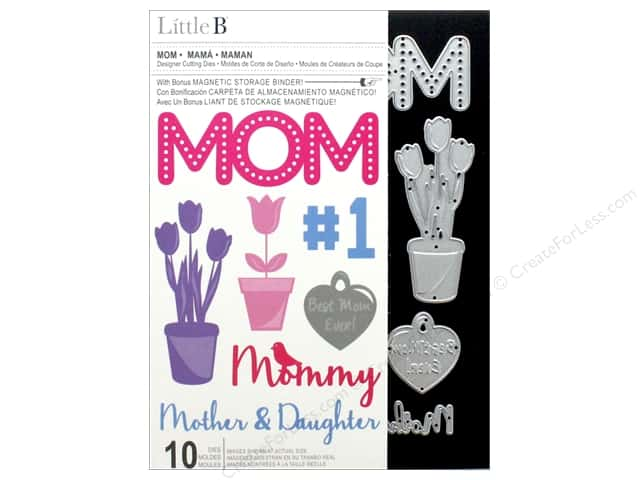 Little B Cutting Die Mom 10pc