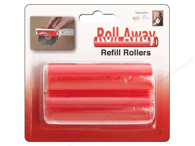Contact Crafts Ken Oliver Roll Away Tacky Roller Refill 2 pc