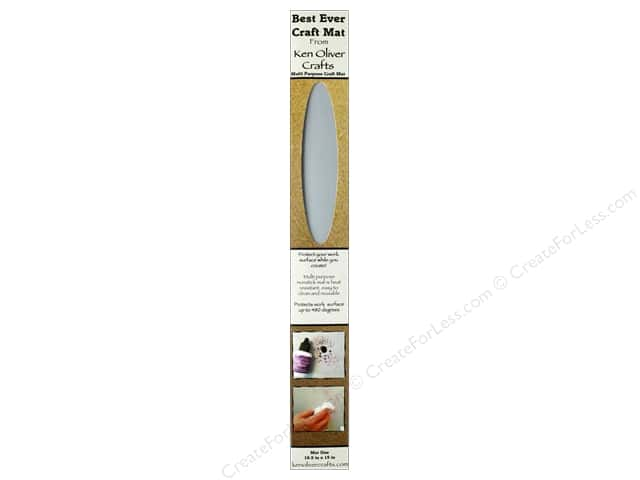 Contact Crafts Ken Oliver Best Ever Craft Mat 16.5 in. x 15 in.