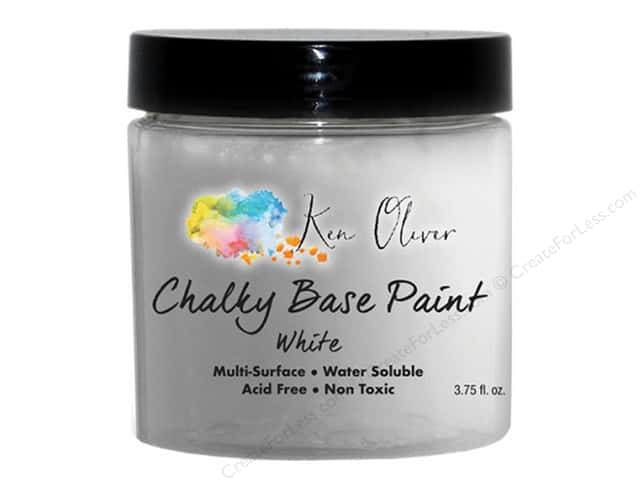 Contact Crafts Ken Oliver Paint Chalky Base 3.75 oz White