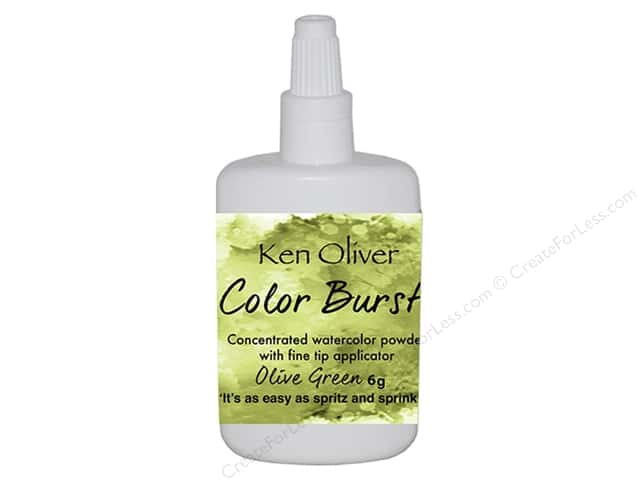 Contact Crafts Ken Oliver Color Burst 6 gm Olive Green