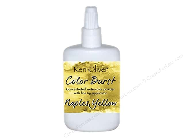 Contact Crafts Ken Oliver Color Burst 6gm Naple Yellow