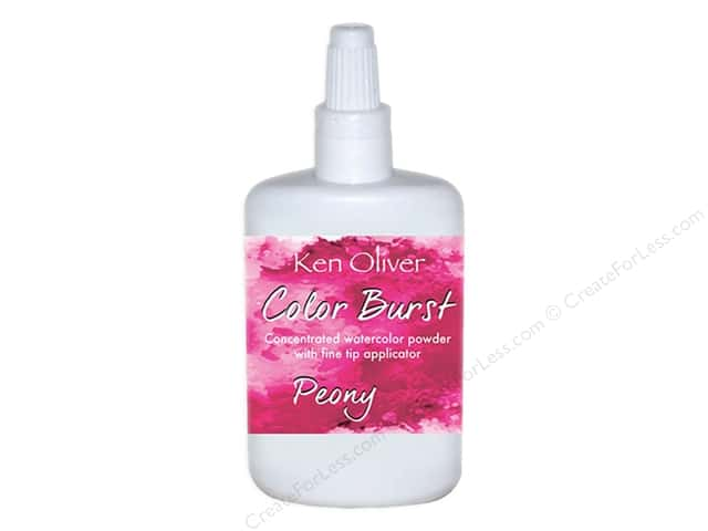 Contact Crafts Ken Oliver Color Burst 6gm Peony
