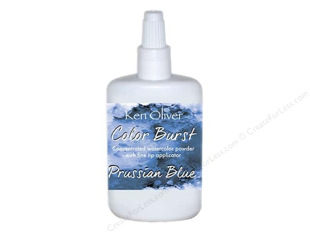 Contact Crafts Ken Oliver Color Burst 6 gm Prussian Blue