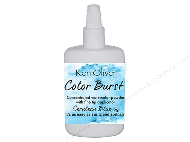 Contact Crafts Ken Oliver Color Burst 6 gm Cerulean Blue