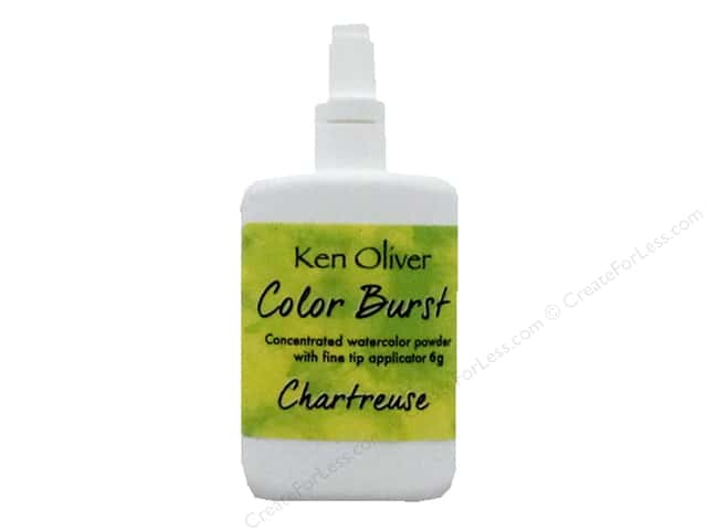 Contact Crafts Ken Oliver Color Burst 6gm Chartreuse