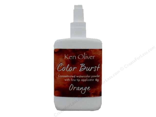 Contact Crafts Ken Oliver Color Burst 6gm Orange