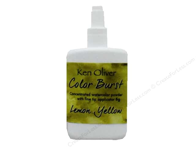 Contact Crafts Ken Oliver Color Burst 6gm Lemon Yellow