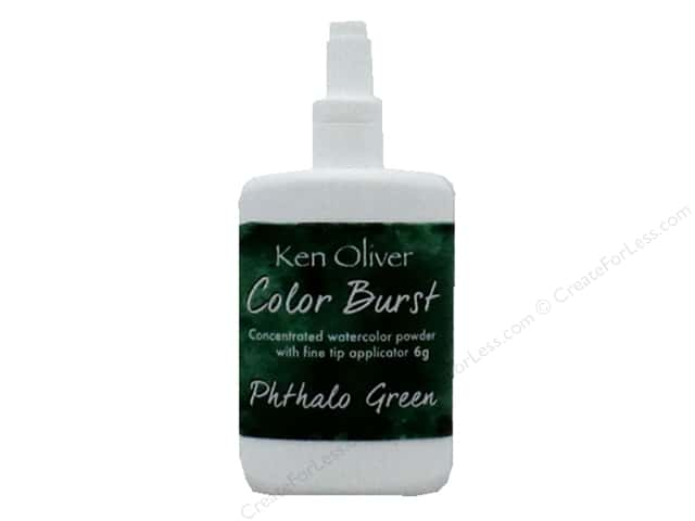 Contact Crafts Ken Oliver Color Burst 6gm Phthalo Green
