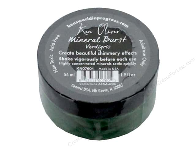 Contact Crafts Ken Oliver Mineral Burst 1.9 oz Verdigris