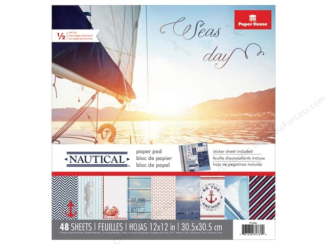 Paper House Paper Pad Nautical