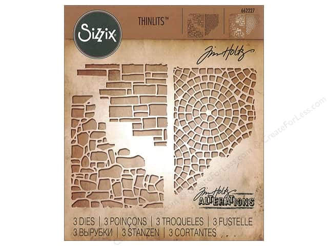 Sizzix Dies Tim Holtz Thinlits Mixed Media #4