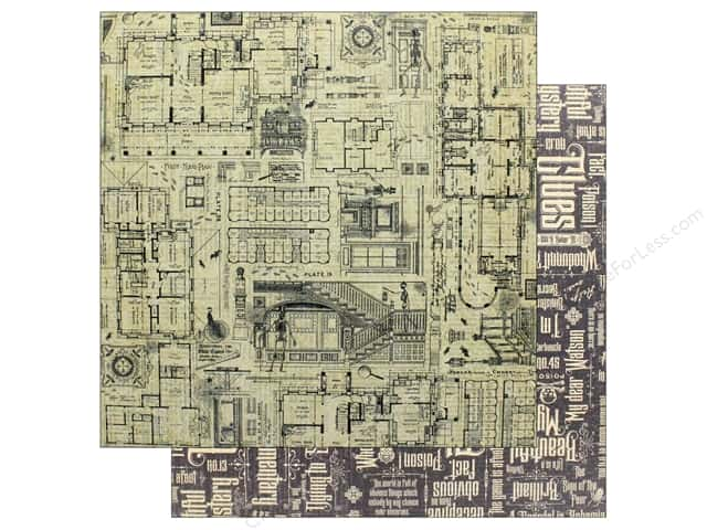 """Graphic 45 Collection Master Detective Paper 12""""x 12"""" Get A Clue (25 pieces)"""