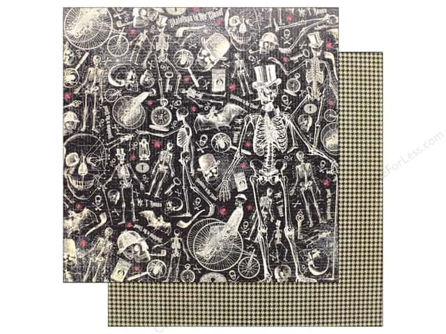 """Graphic 45 Collection Master Detective Paper 12""""x 12"""" Dastardly Deeds (25 pieces)"""