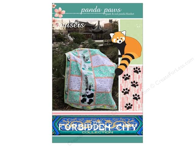 Mckay Manor Musers Panda Paws Block Blanket Pattern