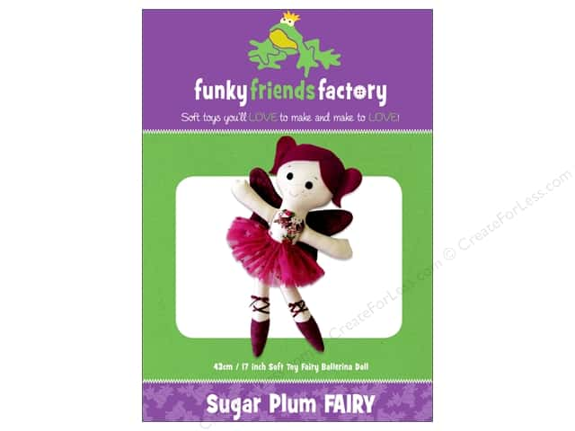 Funky Friends Factory Sugar Plum Fairy Pattern