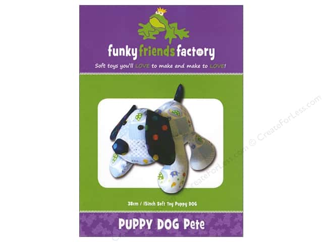 Funky Friends Factory Puppy Dog Pete Pattern
