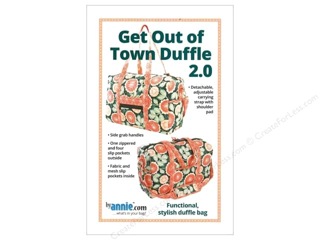 By Annie Get Out Of Town Duffle 2.0 Pattern