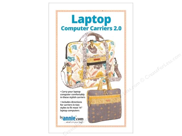 By Annie Laptop Computer Carriers 2.0 Pattern