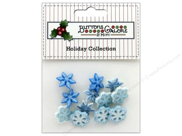 Buttons Galore Theme Button Holiday I Love Snow