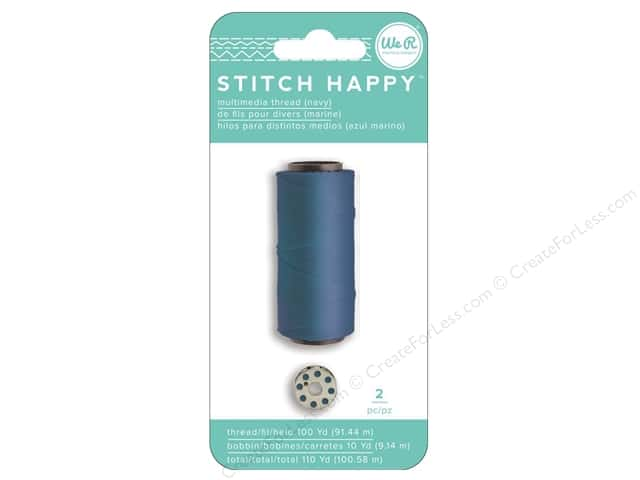 We R Memory Keepers Stitch Happy Thread Navy