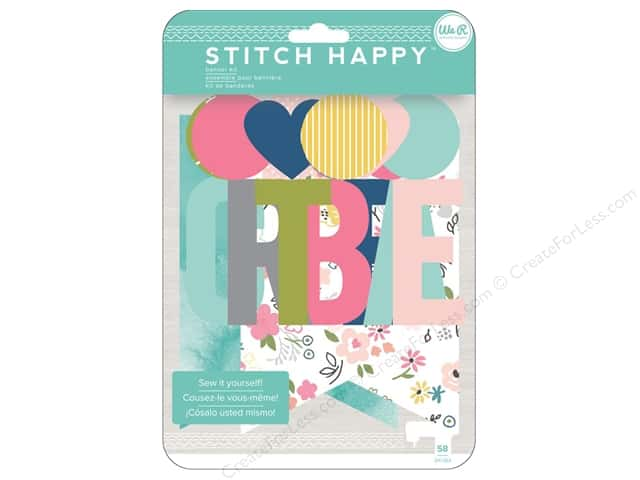 We R Memory Keepers Stitch Happy Banner Kit