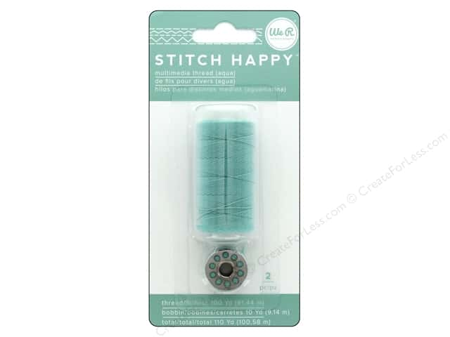 We R Memory Keepers Stitch Happy Thread Aqua