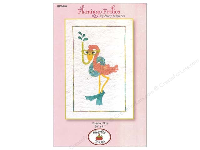 Hissyfitz Designs Flamingo Frolics Pattern