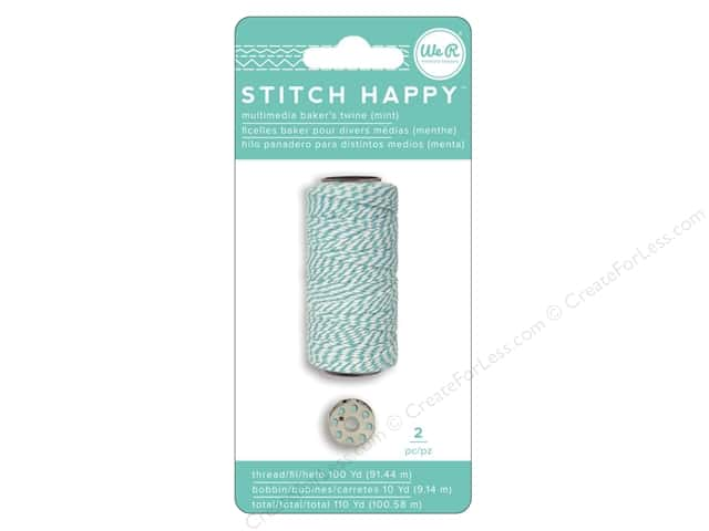 We R Memory Keepers Stitch Happy Baker's Twine Mint