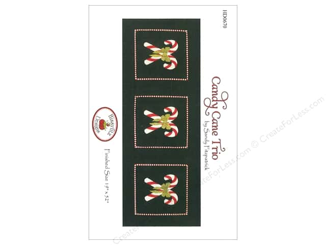Hissyfitz Designs Candy Cane Trio Pattern