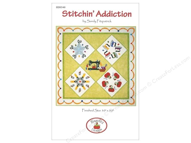 Hissyfitz Designs Stitchin' Addiction Pattern
