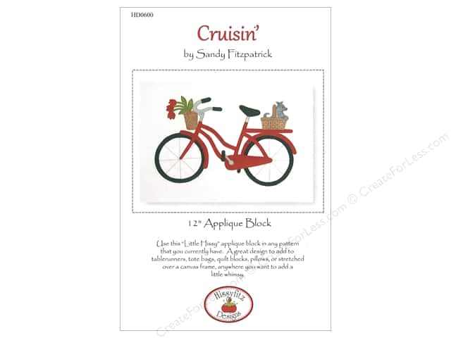 Hissyfitz Designs Cruisin' Pattern