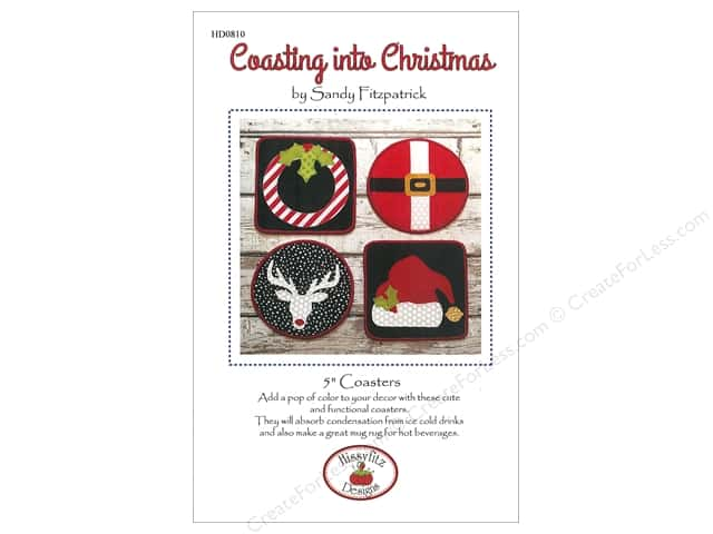 Hissyfitz Designs Coasting Into Christmas Pattern
