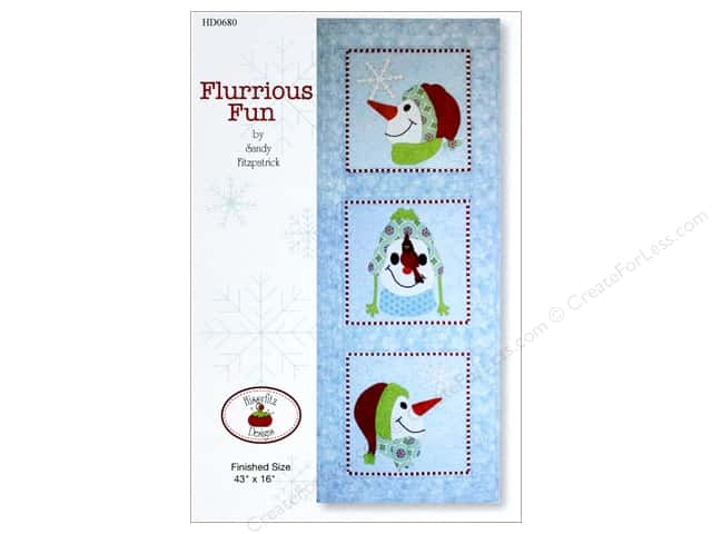 Hissyfitz Designs Flurrious Fun Pattern