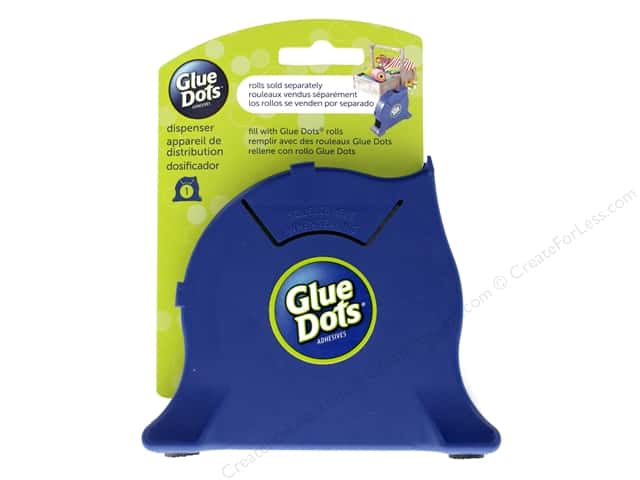 Glue Dots Desktop Dispenser Empty Navy