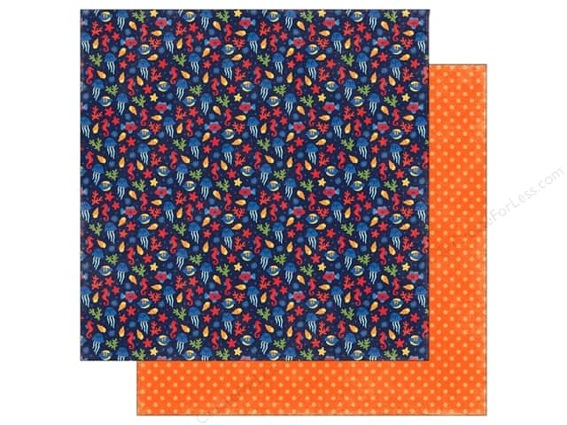 "Echo Park Collection Under The Sea Paper 12""x 12"" Deep Sea Fun (25 pieces)"
