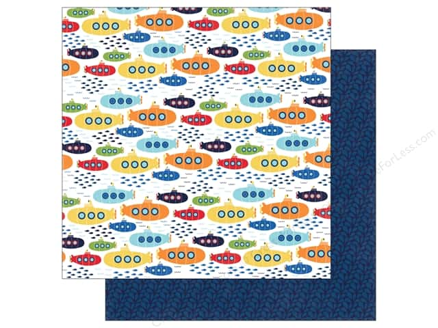 "Echo Park Collection Under The Sea Paper 12""x 12"" Sea Explorers (25 pieces)"