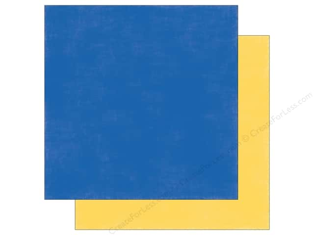 """Echo Park Collection Under The Sea Paper 12""""x 12"""" Yellow/Blue (25 pieces)"""