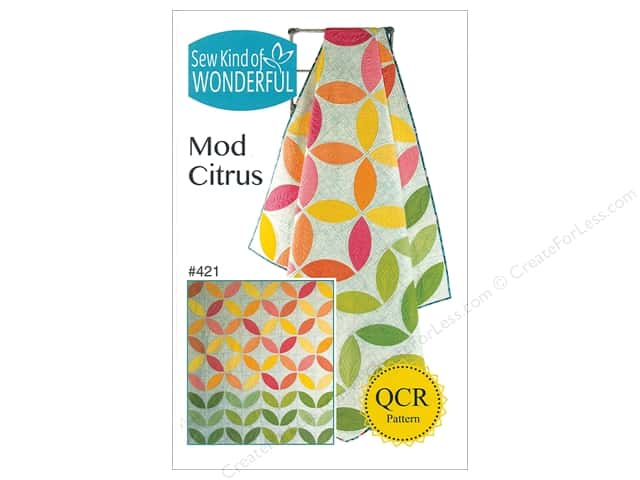 Sew Kind Of Wonderful QCR Mod Citrus Pattern