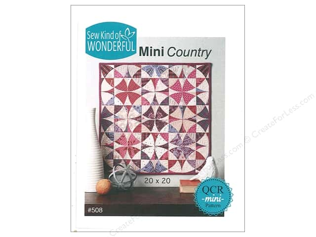 Sew Kind Of Wonderful QCR Mini Country Pattern