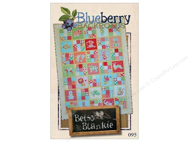 Blueberry Backroads Betsy's Blankie Pattern
