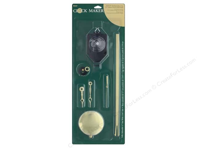 Darice Clock Kit Quartz Pendulm Short 5/16""