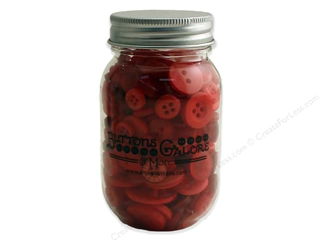 Buttons Galore Button Mason Jar Big Apple
